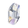 Swarovski Pendant 6673 Meteor 28mm Aurora Borealis Crystal